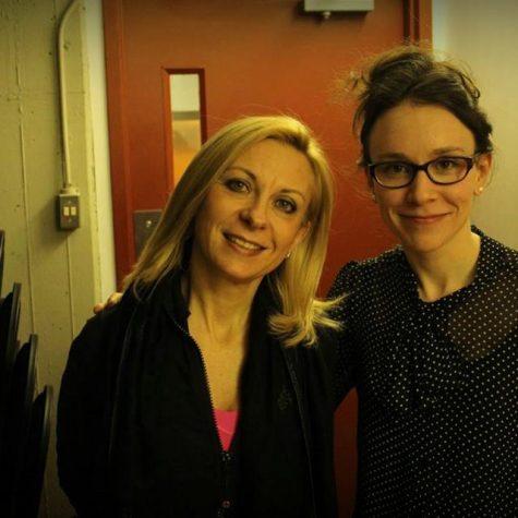 Avec la soprano Natalie Dessay